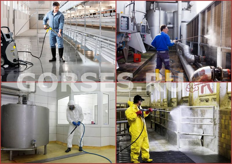 санитарная обработка производственных помещений