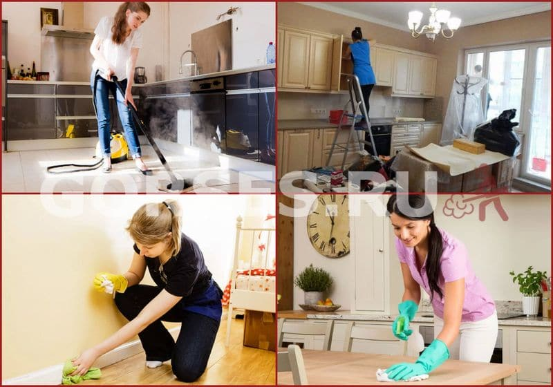 уборка квартиры после травли тараканов