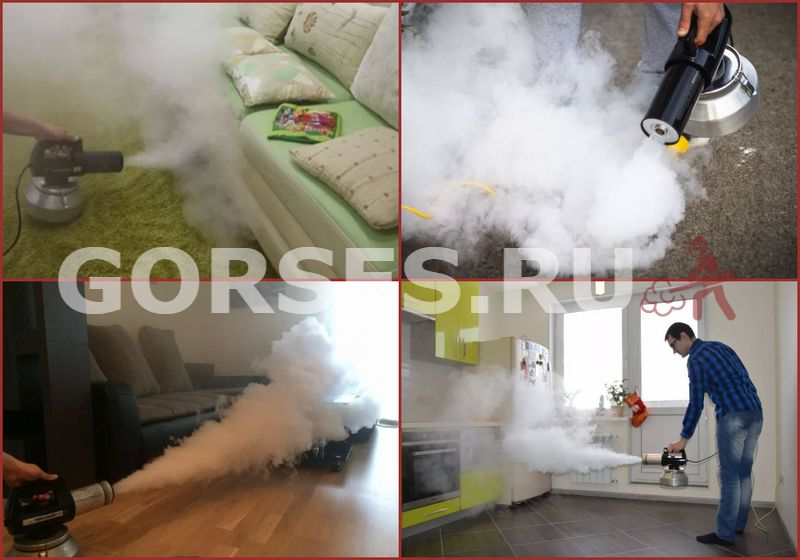 Удаление запахов