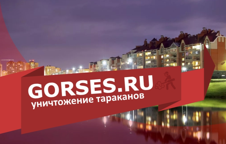 Уничтожение тараканов в Обнинске