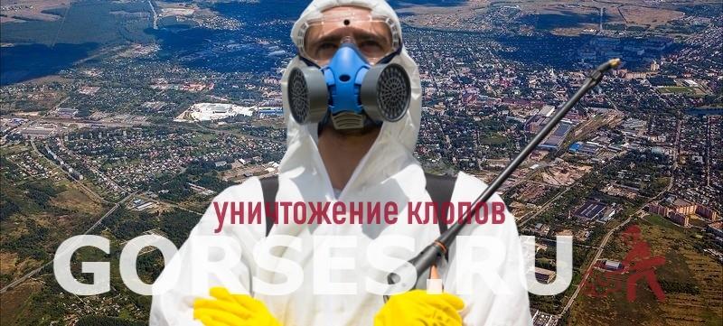 уничтожение клопов Егорьевск