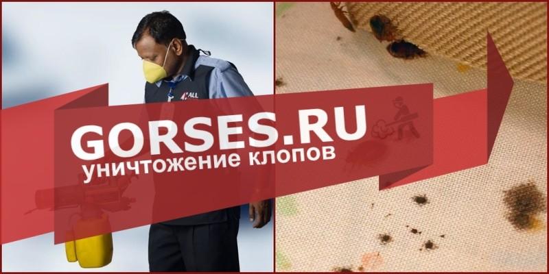 обработка клопов Красногорск