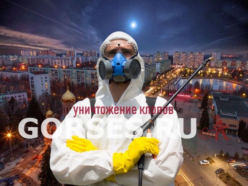 уничтожение клопов Краснознаменск