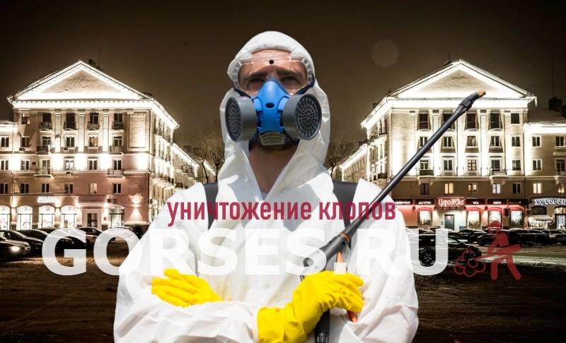 уничтожение клопов Воскресенск