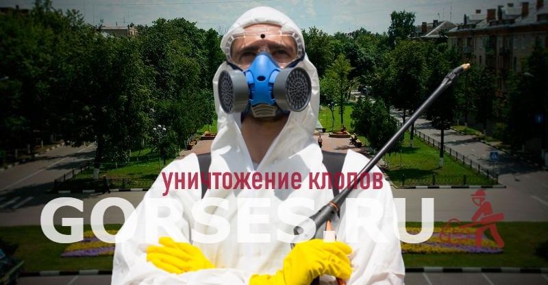 уничтожение клопов Жуковский